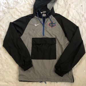 Nike Gators Anorak 1/2 Half-Zip Jacket Hoodie
